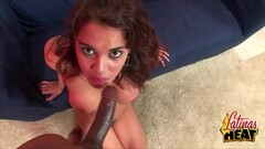 Kinky slutty wife loves to eat his cock and cum Thumb