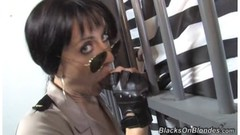 Dark cock loves sweet police pussy Thumb