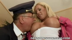 Angie Knight gives Grandpa a good time Thumb