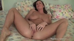 Hot Cherry Lady's Fabulous Clit Cum Thumb