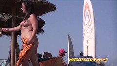 Nudist Beach Females Voyeur Close Up Pussy Footage Thumb