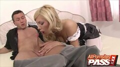 Naughty Spanish Babe Donna Bell Pussy Licked And Blowjobs Thumb